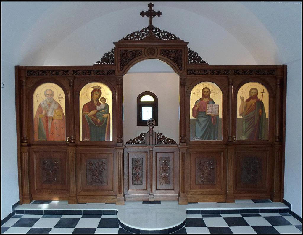 Αγγελόπουλος Ξυλόγλυπτα Εκκλησιαστικά