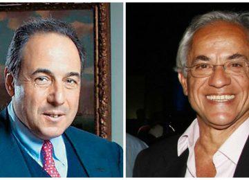 Πήτερ Λιβανός (αριστερά), Δημήτρης Κοπελούζος (δεξιά)